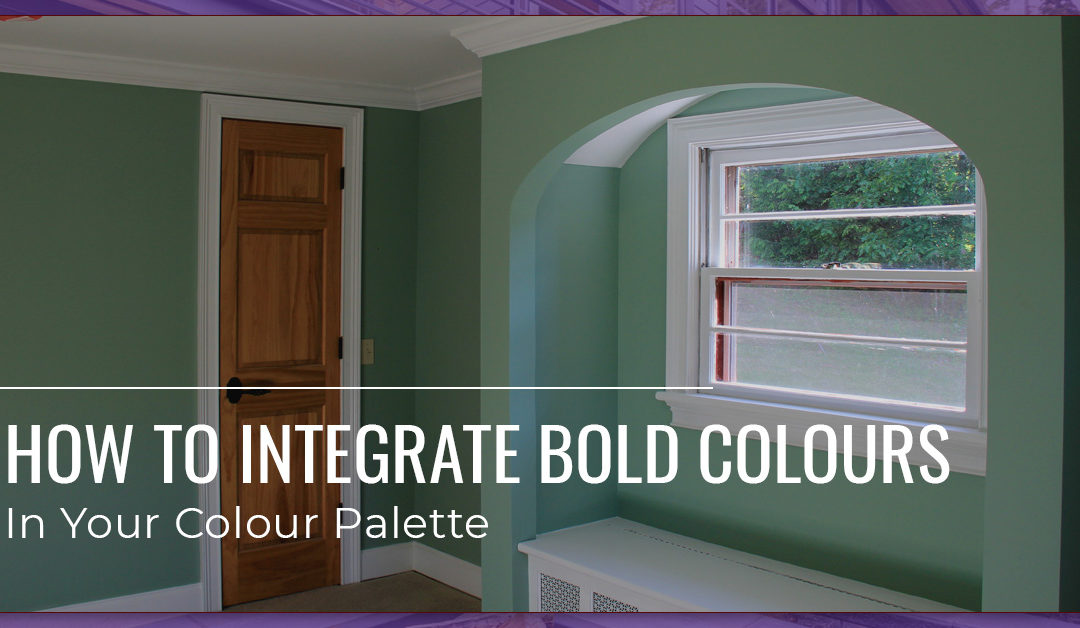 How to Integrate Bold Paint Colors