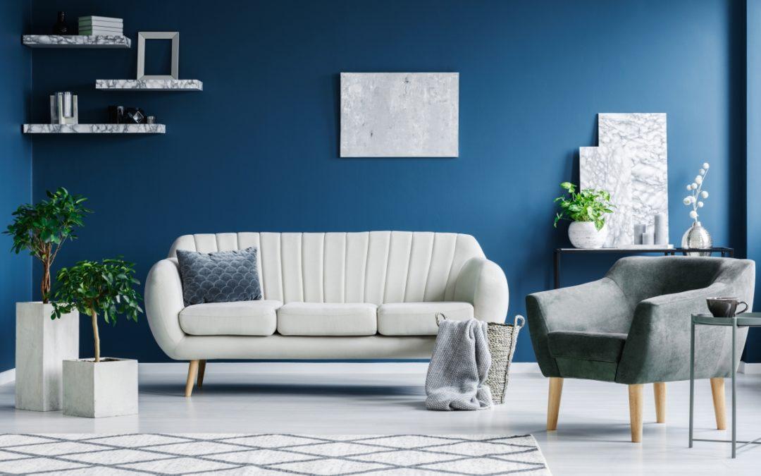 Navy Blue Interior Wall Color